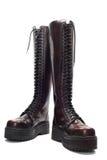Кожаные ботинки, Стоковая Фотография RF