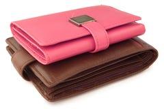 кожаные бумажники Стоковое Изображение RF