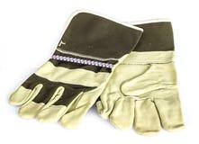 Кожаные перчатки для сваривать Стоковые Изображения RF