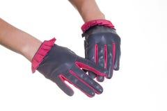 Кожаные перчатки Стоковая Фотография RF