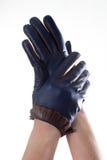 Кожаные перчатки Стоковое Фото