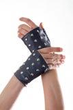 Кожаные перчатки Стоковое фото RF