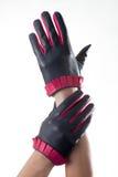 Кожаные перчатки Стоковые Фото