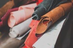 Кожаные ремесло или работа Стоковые Фото
