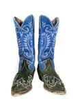 кожаные старые ботинки Стоковое фото RF