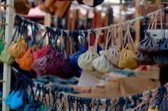 Кожаные сумки Стоковое Фото