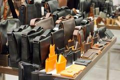 Кожаные сумки Стоковое фото RF