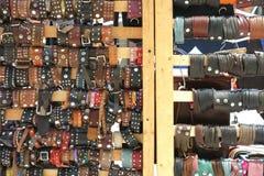 Кожаные товары Стоковое фото RF