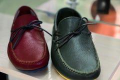 Кожаные loafers ` s людей стоковое фото rf