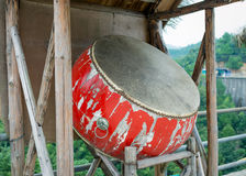 Кожаный барабанчик стоковые фотографии rf