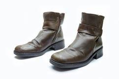 Кожаный ботинок Стоковое Изображение RF