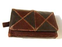 кожаный бумажник Стоковые Фотографии RF