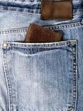 Кожаный бумажник Стоковые Изображения