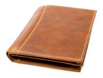 Кожаный бумажник Стоковые Фото