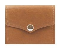 кожаный бумажник Стоковая Фотография RF