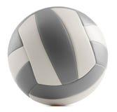 Кожаный волейбол изолированный на белой предпосылке Стоковое Изображение