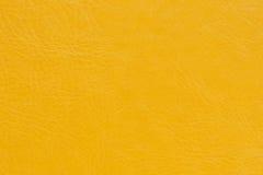 кожаный желтый цвет Стоковое Изображение RF