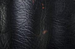 Кожаный макрос предпосылки Стоковое Фото