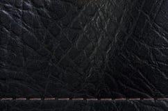 Кожаный макрос предпосылки Стоковые Фото