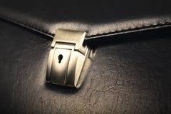 Кожаный портфель Стоковые Изображения