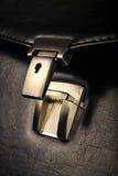 Кожаный портфель Стоковые Фото
