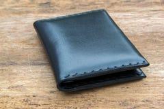 Кожаный случай для пасспорта Стоковая Фотография RF