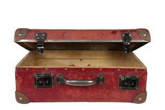 кожаный чемодан Стоковое Изображение RF