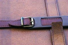 кожаный чемодан Стоковое фото RF