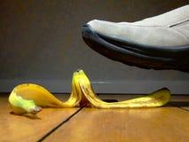 кожа банана Стоковое фото RF