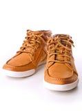 кожа ботинка стоковые изображения rf