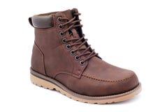 кожа ботинка Стоковое Фото