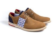 Кожа ботинок новая Стоковое Изображение RF