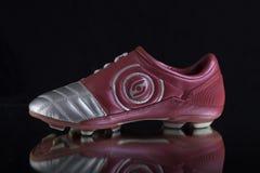 Кожа ботинок новая Стоковые Фото