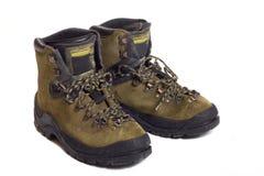 кожа ботинок Стоковая Фотография