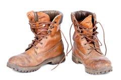 кожа ботинок Стоковые Фото