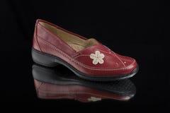 кожа ботинок Стоковое Изображение RF