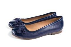 кожа ботинок Стоковое фото RF