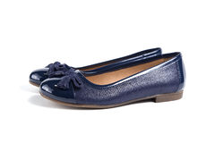 кожа ботинок Стоковые Фотографии RF