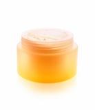кожа внимательности косметическая cream Стоковое Изображение