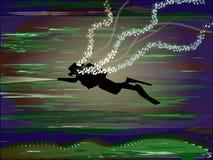 кожа водолаза Стоковая Фотография