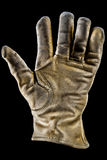 кожа для перчаток старая Стоковая Фотография RF