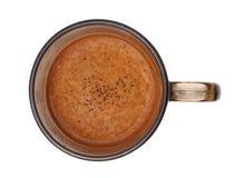 кожа кофе Стоковая Фотография RF