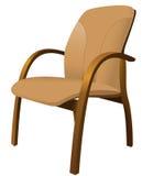 кожа кресла Стоковое Изображение
