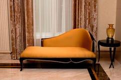 кожа кресла Стоковая Фотография RF