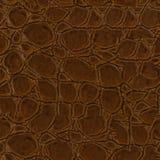 Кожа крокодила, может использовать как предпосылка Безшовная квадратная текстура, кроет готовое черепицей стоковое изображение