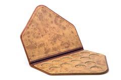 кожа крышки монеток Стоковое Изображение RF