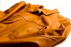 кожа куртки Стоковое фото RF