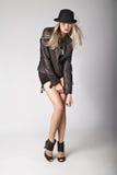 кожа куртки Стоковое Фото
