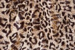 кожа леопарда предпосылки Стоковая Фотография