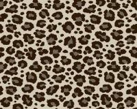 Кожа леопарда ягуара повторяя безшовную картину Животная печать для дизайна ткани иллюстрация вектора